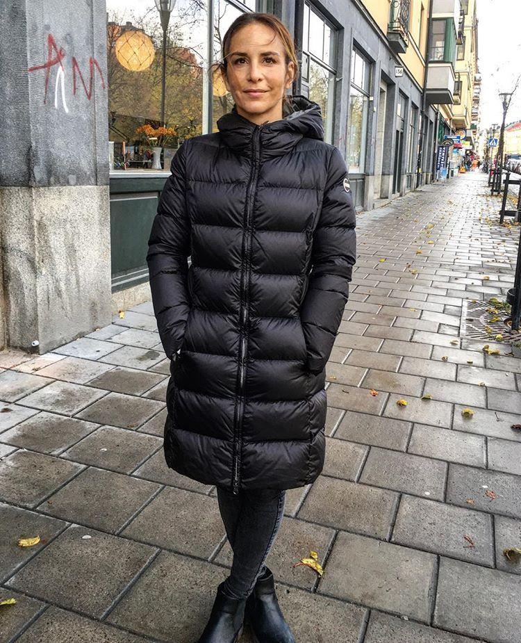 Alexandra Rapaport in model colmar 2221 in the Store right ...  Alexandra Rapap...