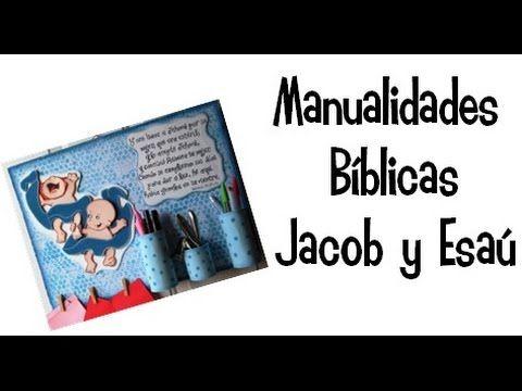 Manualidades Bíblicas/ Nacimiento de Jacob y Esaú