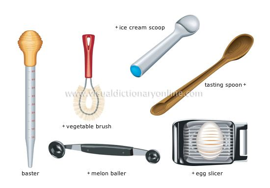 Miscellaneous Utensils 3 Image Cooking Tool Set Kitchen Tool Names Plastic Kitchen Utensils