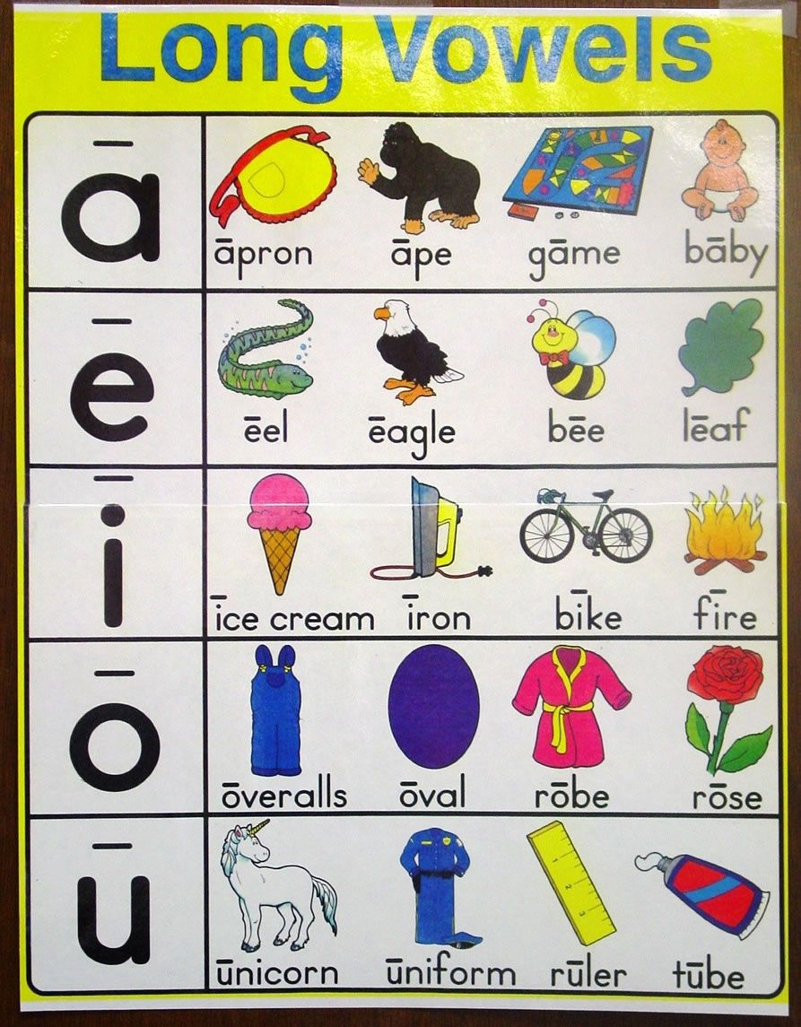 vowels sounds Coconut vowels in an educational computer activity that provides spelling practice with vowels.