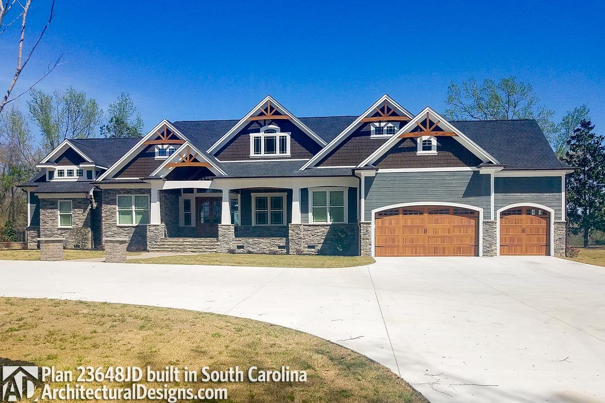 Mountain Craftsman with 2 Master Suites