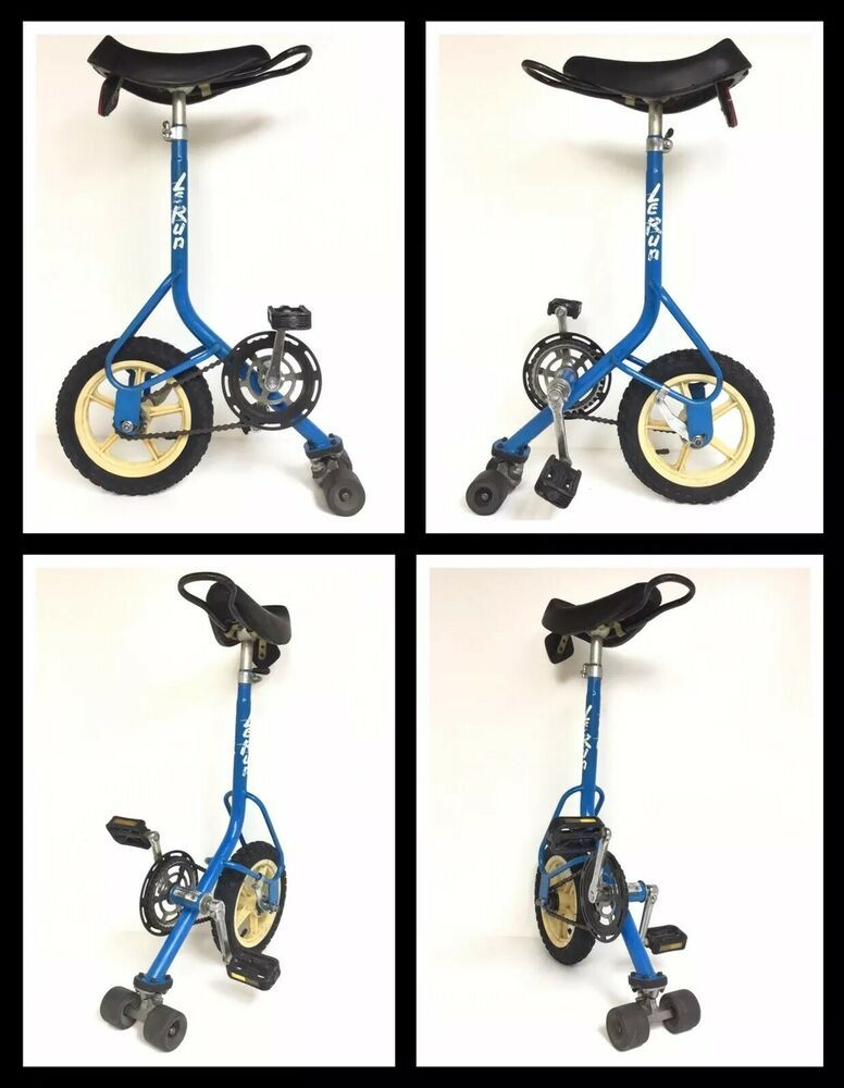 Lerun Skate Bike Unicycle Vintage 80s Retro Bmx Bicycle