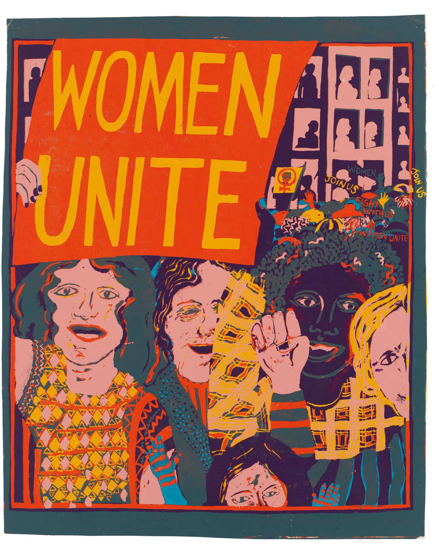 See Striking Posters Created By A 1970s Feminist Art Collective Feminist Art Feminism Poster Women Unite
