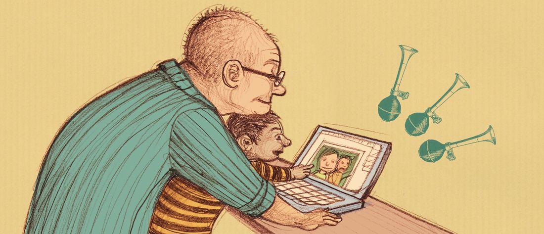 noemivillamuza.com | Mis abuelos y yo