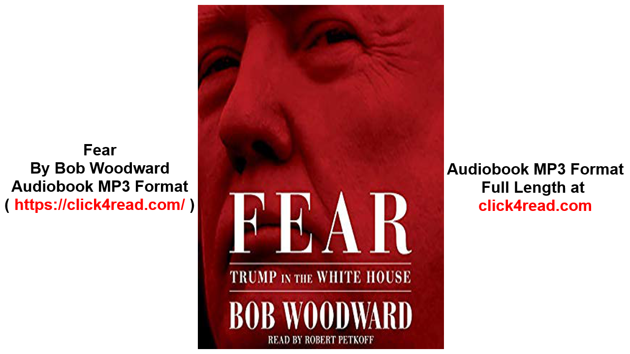 Fear Trump in the White House Audiobooks , MP3