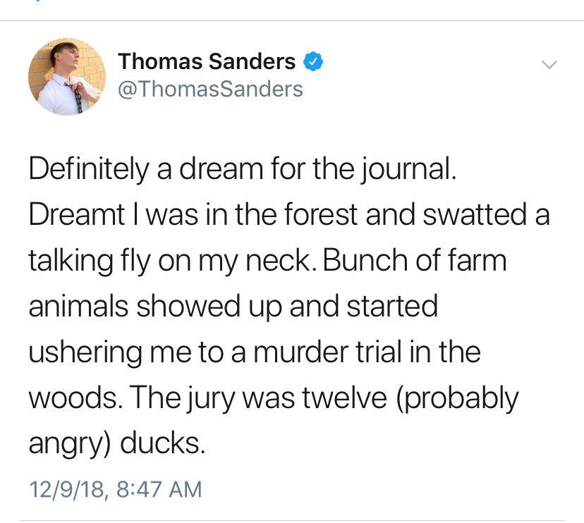 Pin On Thomas Sanders