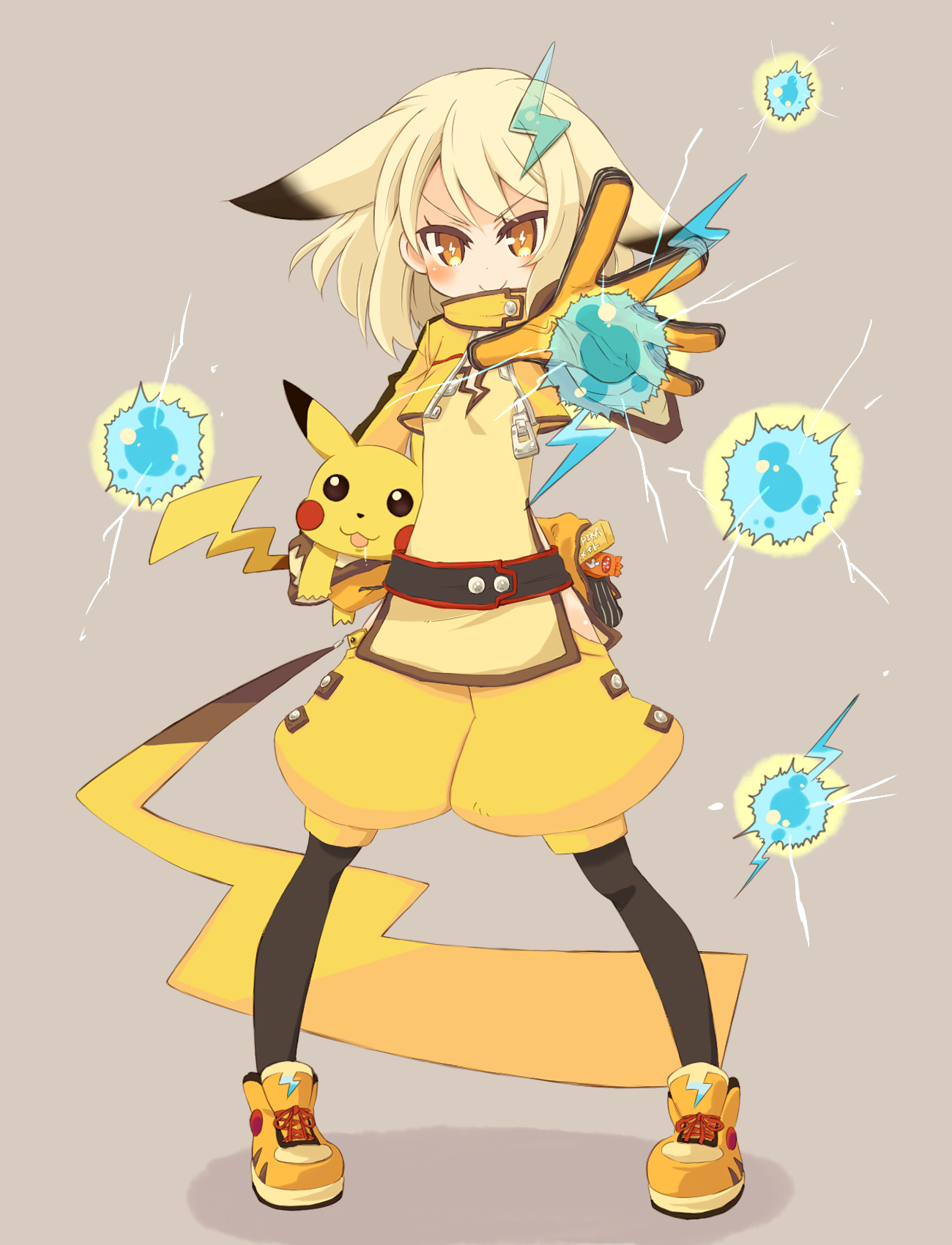 25 Pikachu Pokemon gijinka, Pikachu, Pikachu art