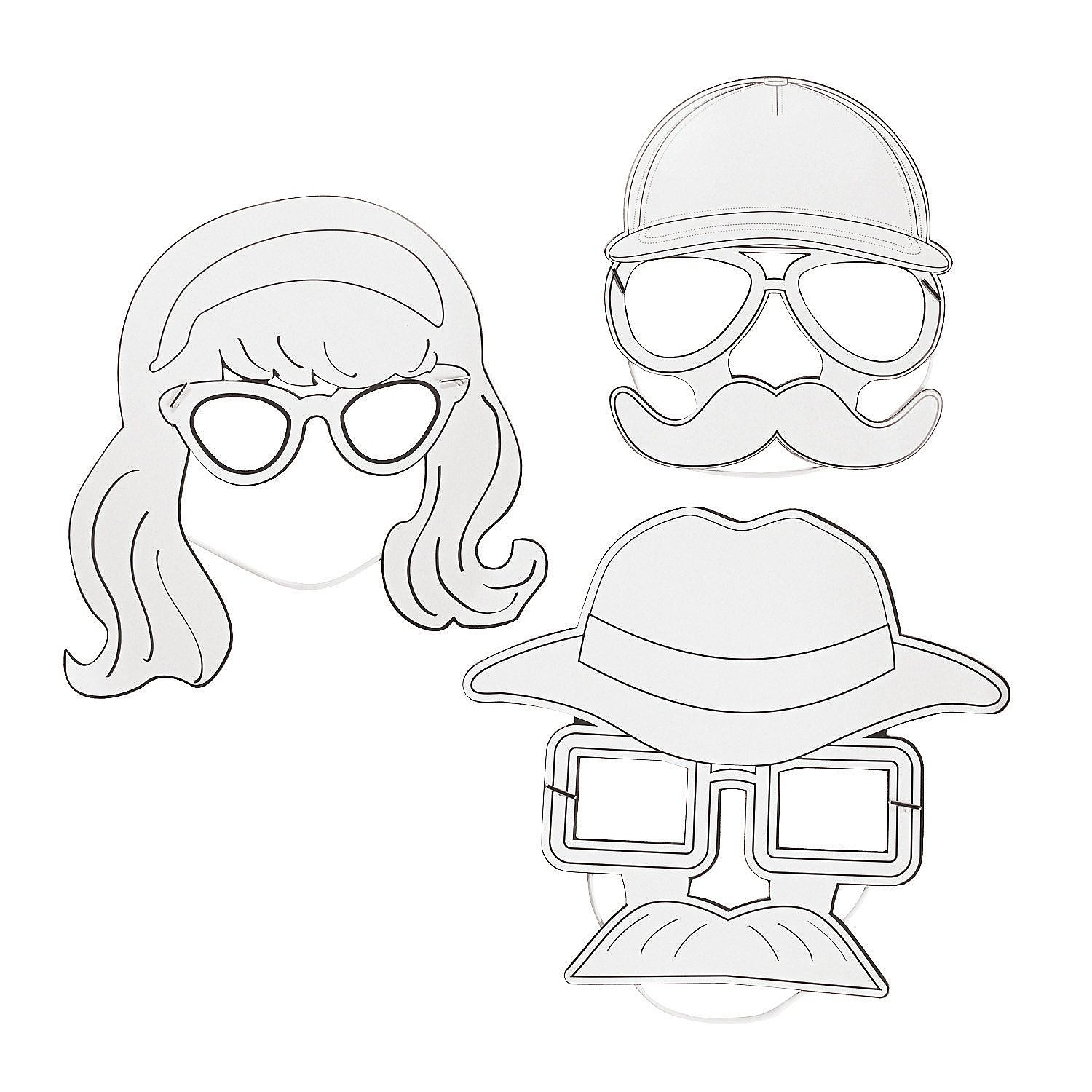 DIY Agents of Truth VBS Disguise Masks, DIY Crafts, Crafts