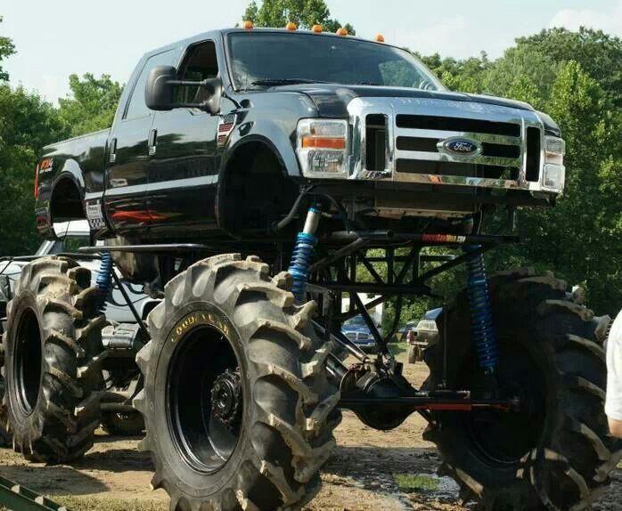 Ford Superduty Mega Mud Truck Rock Crawlers Diesels