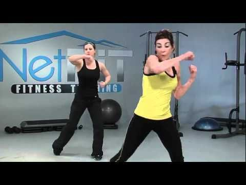 this was a really good total body kickboxing workout