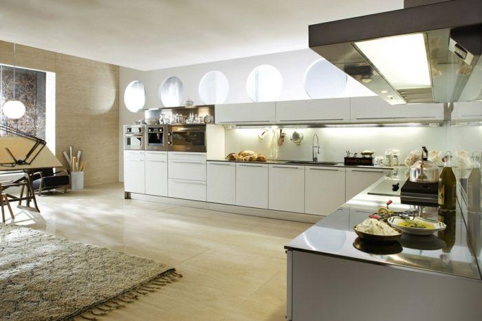 küche l-form stilvolle küchengestaltung mit abgetrenntem - küche l form