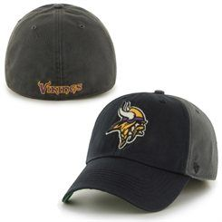 f53d7114 47 Brand Minnesota Vikings Charcoal Nightshade Franchise Fitted Hat ...