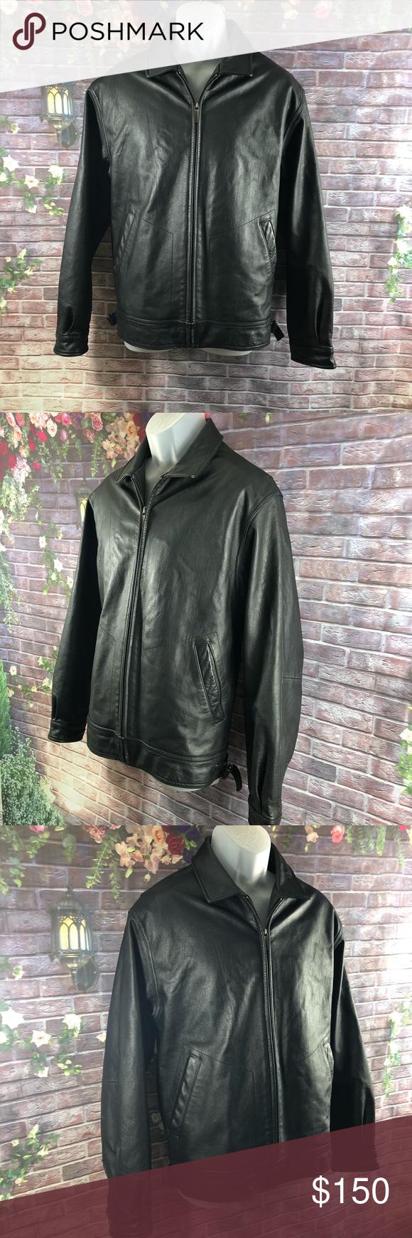 Leather Jacket Wilson's M. Julian Bomber Men's M Leather