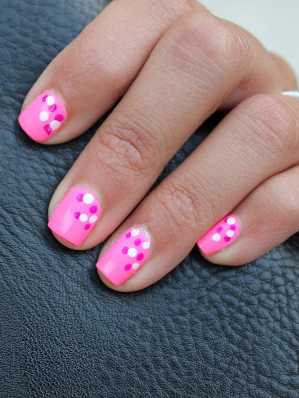 The Beauty Stop » » How To: Polka Dot Manicure Part 2