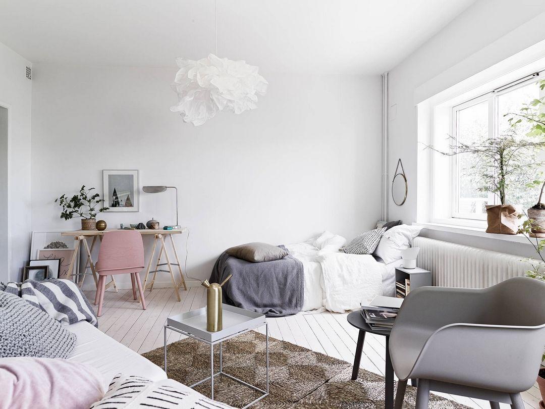PETIT MAIS TRÈS ACTUEL  Déco chambre style scandinave, Deco