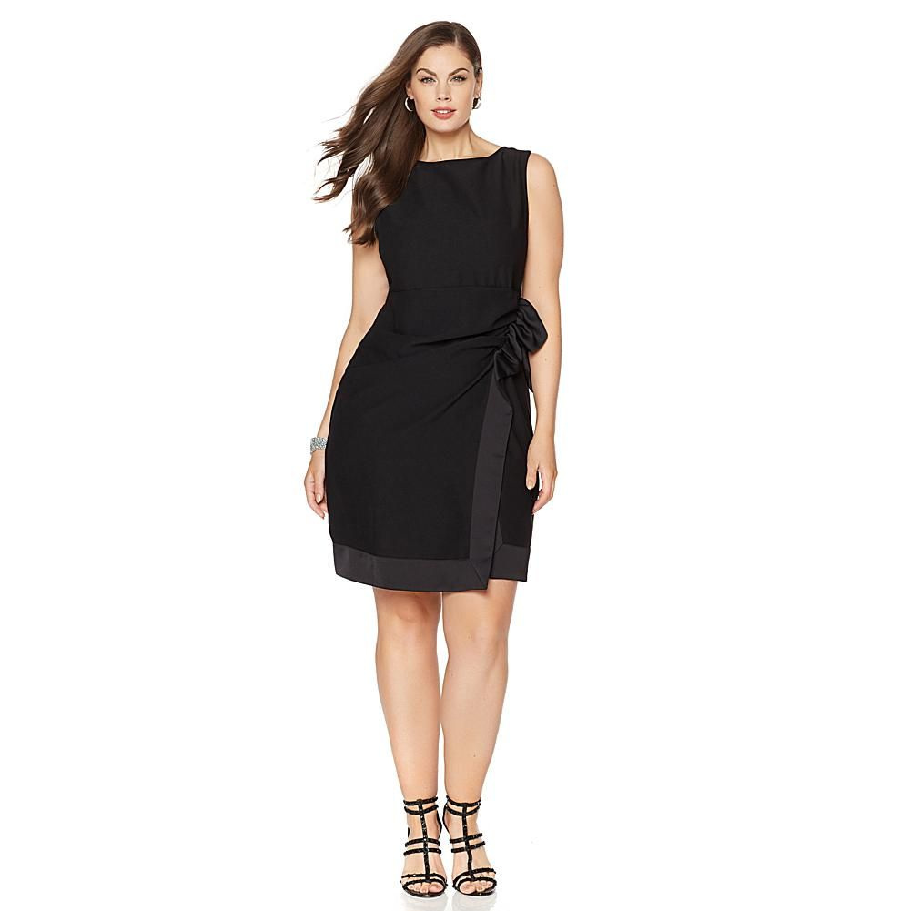 Kai milla side ruched dress with back zipper