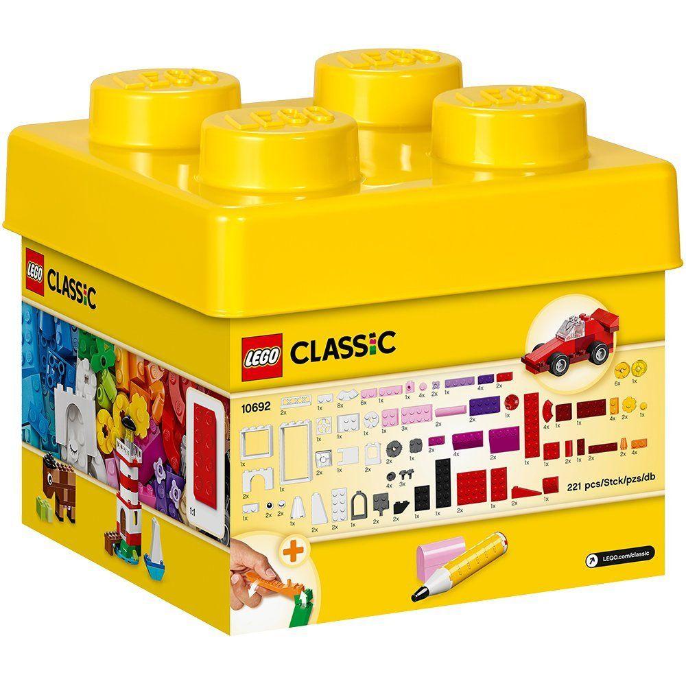Lego Classic 10692 Bausteine Set 221 Teile Viele Farben