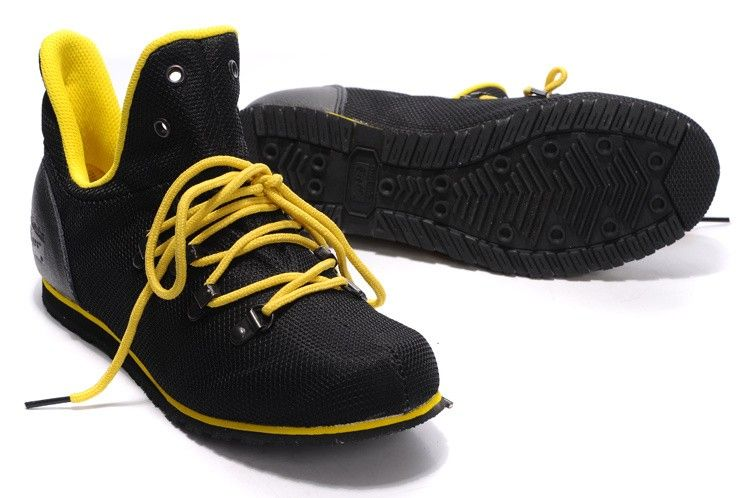 Mens   Womens Black Yellow Onitsuka Tiger Monte Pokhapa Shoes  onitsukatiger 58f622fcdd
