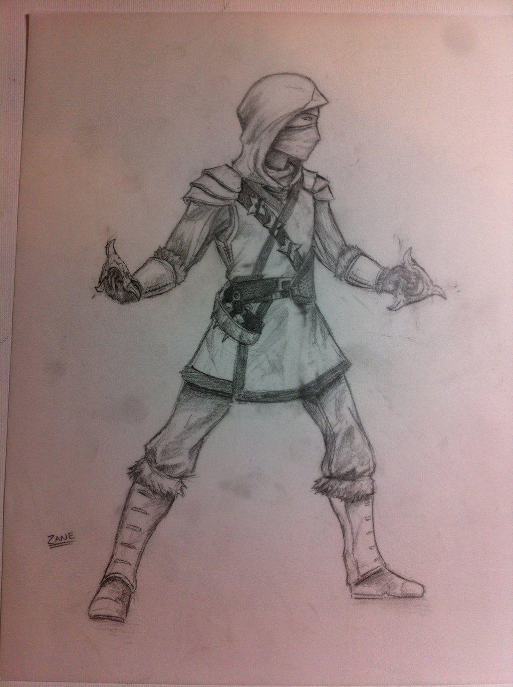 Zane Pencil Drawing By Joshuad17deviantartcom On At Deviantart