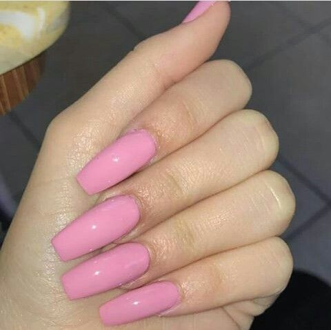 pinraiven jeanae hicks on nails  pink acrylic nails