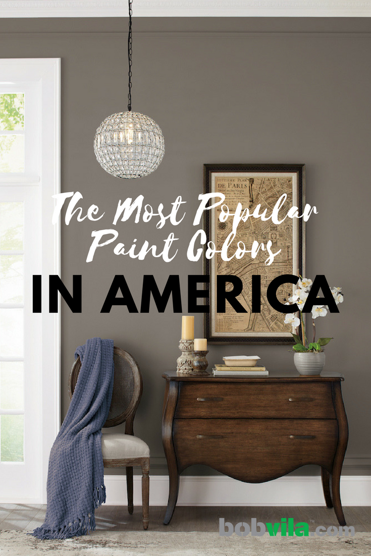 The Most Popular Paint Colors In America Most Popular Paint