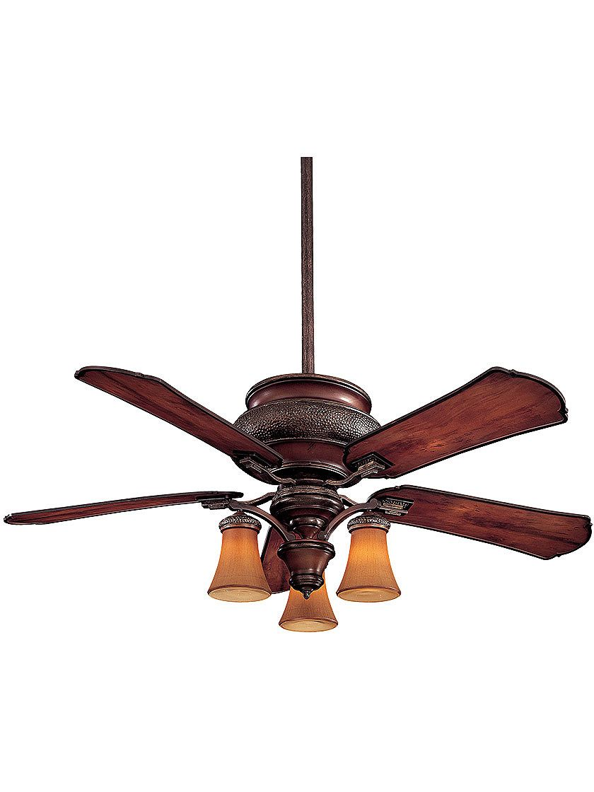 Old Ceiling Fans Craftsman Wet Rated 52 Ceiling Fan With 3 Lights And Mahogany Bronze Finish Craftsman Ceiling Fans Ceiling Fan Antique Ceiling Fans