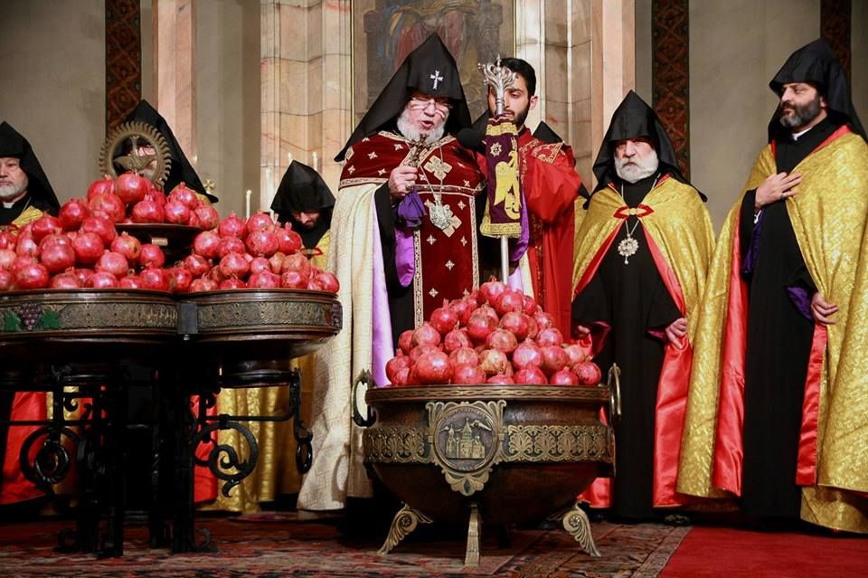 On December 31 2014 The Mother See Of Holy Etchmiadzin Performed A