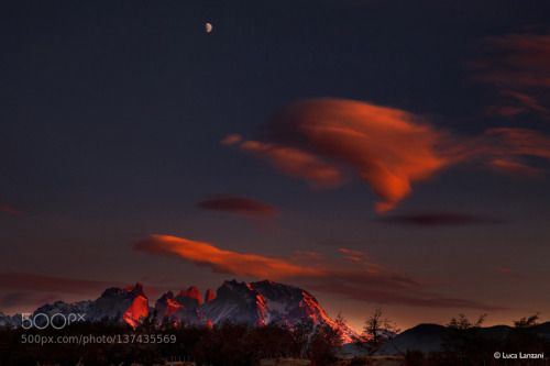 Torres Del Paine by luca-lanzani  Luca Lanzani Sunrise Torres del paine Torres Del Paine luca-lanzani