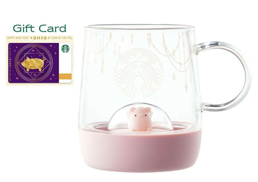 Starbucks Korea 2019 NEW YEAR HAPPY PIG MUG 237ml limited edition