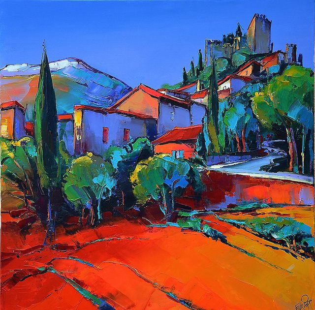 eric le pape artiste peintre de bretagne peintures d 39 ailleurs tunisie vietnam terrasses. Black Bedroom Furniture Sets. Home Design Ideas