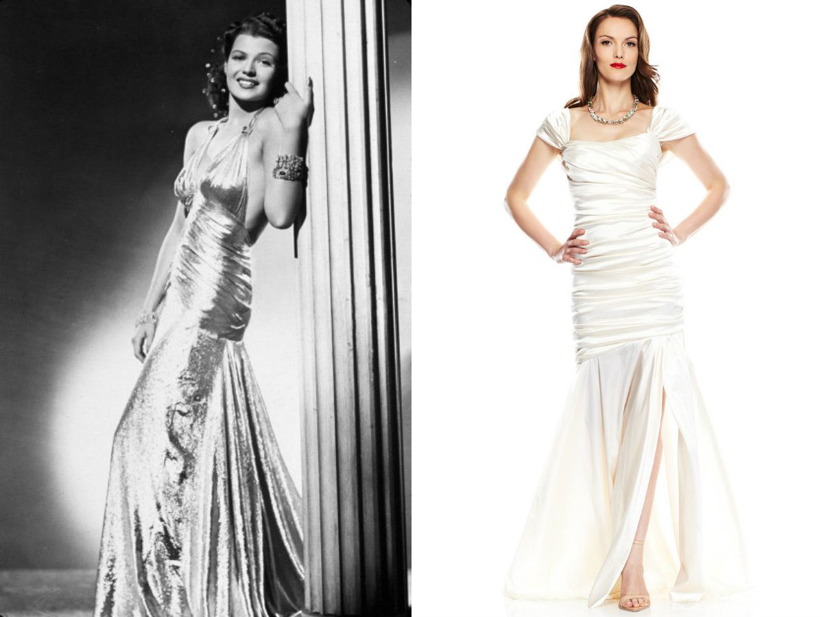a glamourous glimpse in the past with decadent 1940's ...
