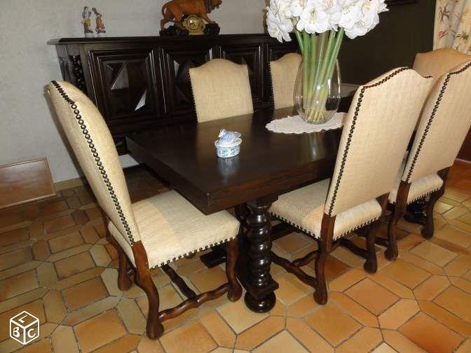 Salle a manger LOUIS XIII Ameublement Haute-Garonne - leboncoinfr - salle a manger louis