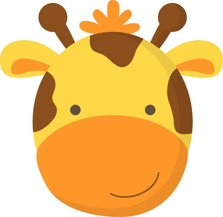 Resultado de imagen para dibujos de cara de jirafas para niños ...