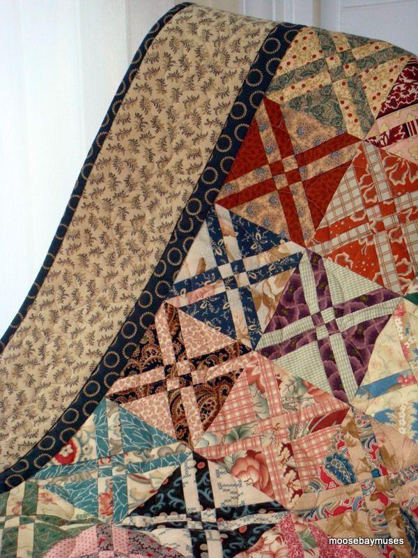 scrappy quilt | Quilts | Pinterest | Patchwork Ideen, Patchwork und ...