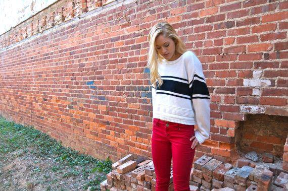 Liz Sport Cropped Sweater (Liz Claiborne). $15.00, via Etsy.