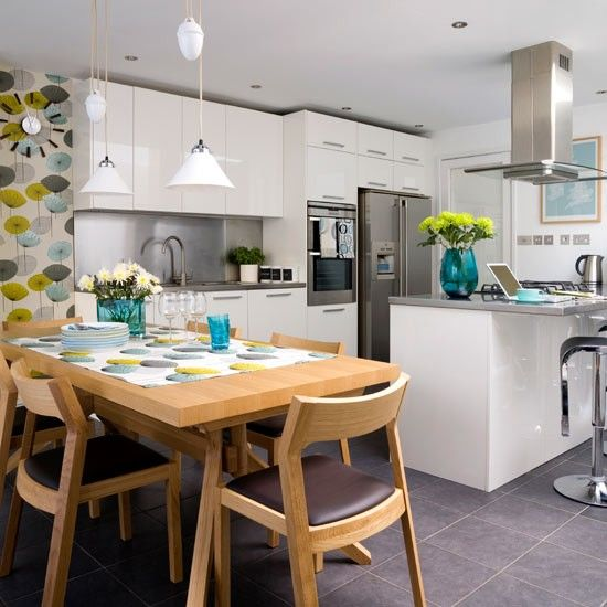 How To Create A Big Kitchen-diner