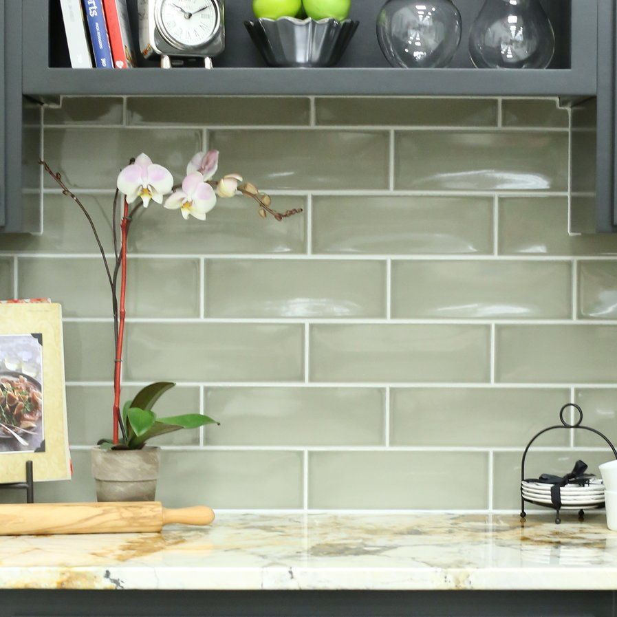 Leila 4 X 12 Ceramic Subway Tile In Dove At Wayfair