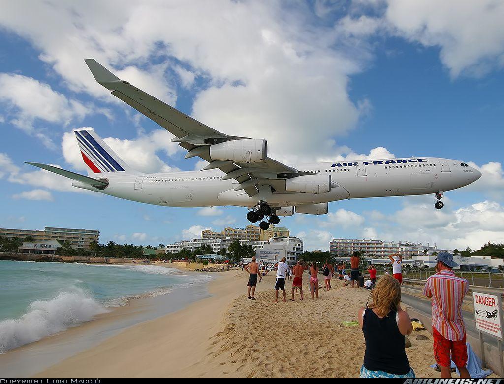 Landing Air France Fotos Raras Fondos De Pantalla Aviones