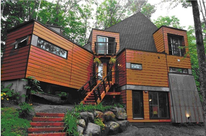Cargo container homes green living - Sea container home designs ...