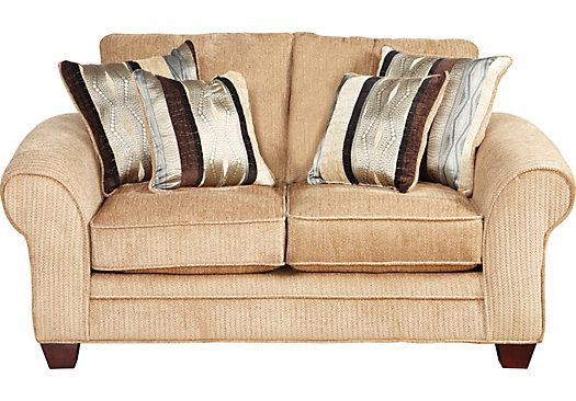 shop for a jersey taupe loveseat at rooms to go find loveseats that will look