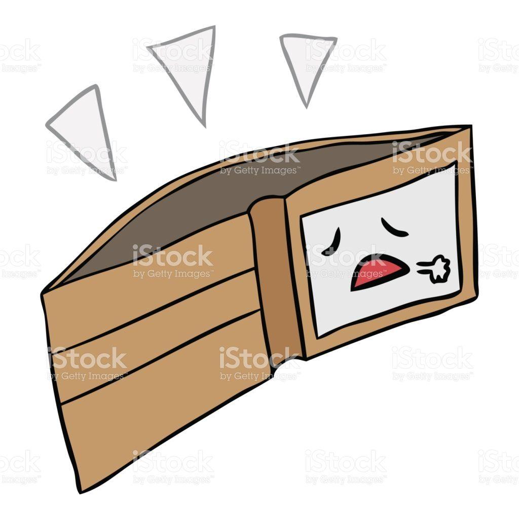 Image Result For Empty Wallet Cartoon Wallet Image Cartoon