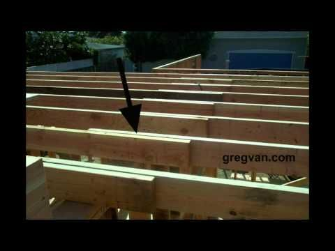 Wood Framing Ceiling Joist Laps Connections Home Building Tips Building A Shed Home Building Tips Small Shed Plans