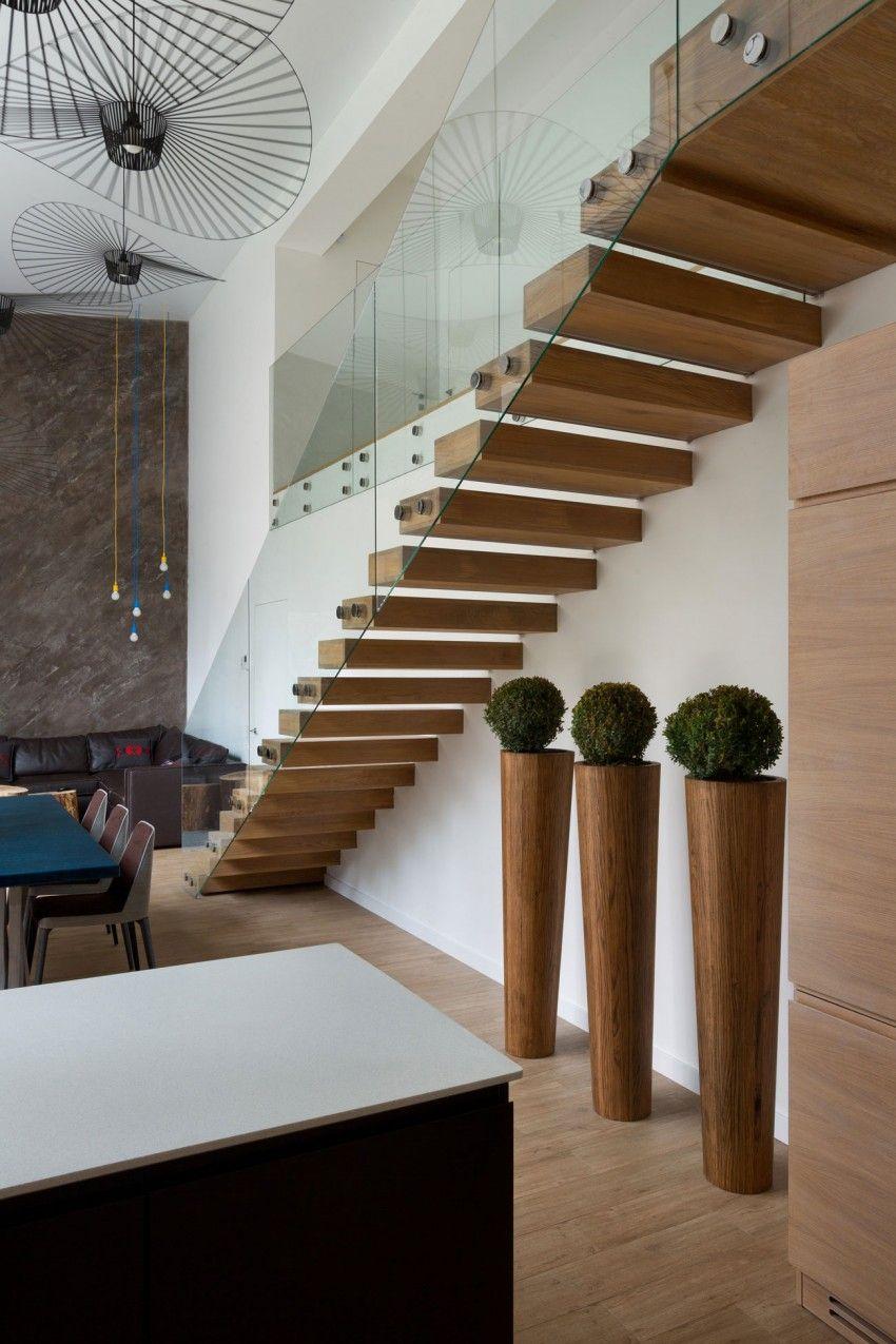 Cube House by Yakusha Design   Innentreppen und Treppe