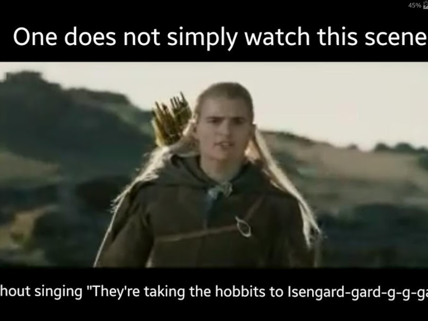 They Re Taking The Hobbits To Isengard Hobbit Memes Lotr Funny The Hobbit