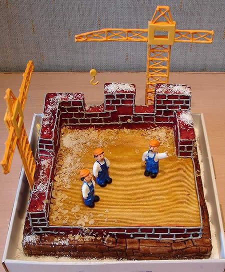 Inspiration 15 Types Of Cakes You Have Never Seen Zenverse Construction Cake Building Cake Amazing Cakes