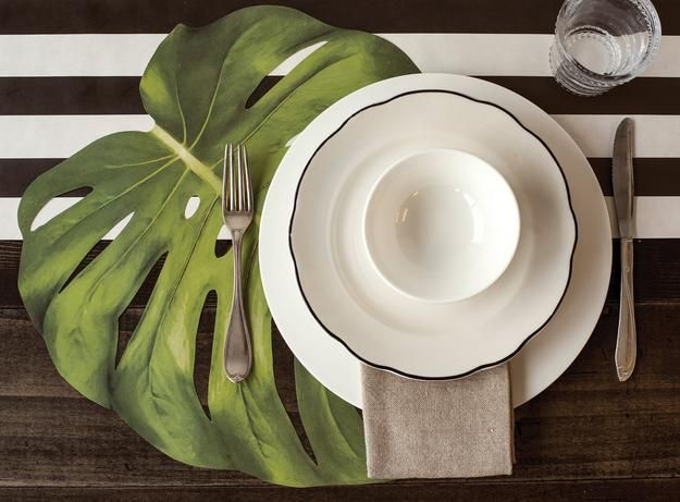 Pin On Table And Place Settings