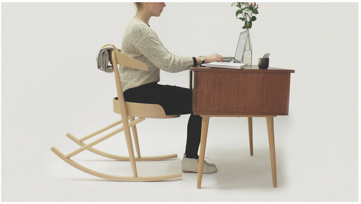The office desk rocking chair | Loft | Pinterest | Rocking chairs ...