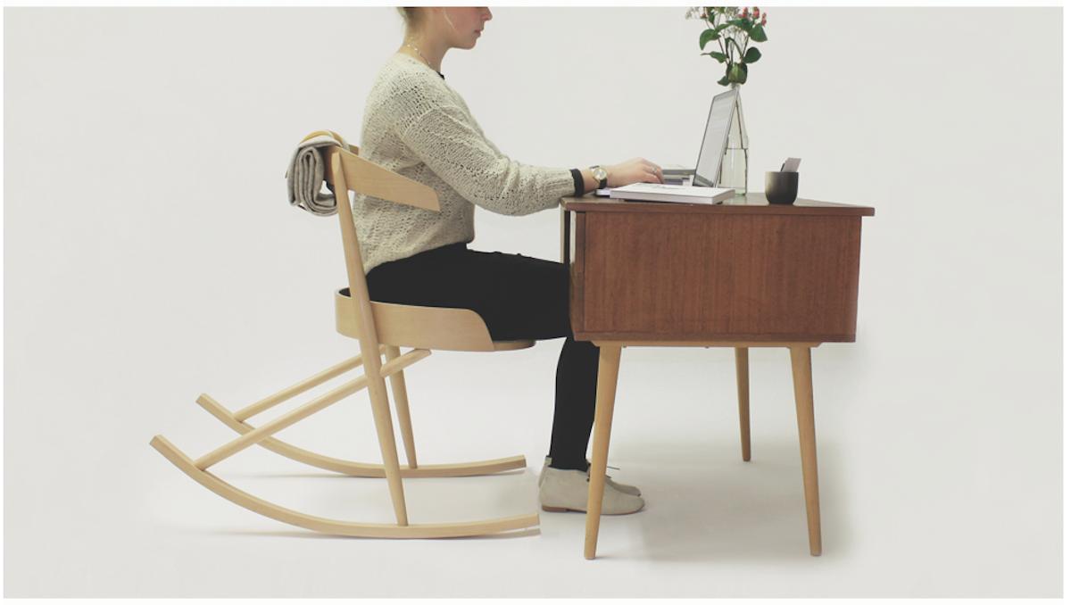 The Office Desk Rocking Chair Loft Rocking Chair Design Chair