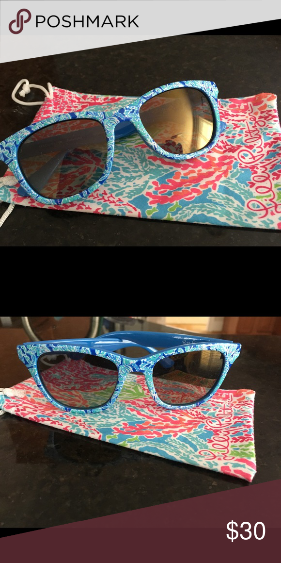 ae317b077f Lilly Pulitzer Maddie sunglasses- polarized Super fun - a must for any Lilly  lover! No scratches- worn only a couple of times.