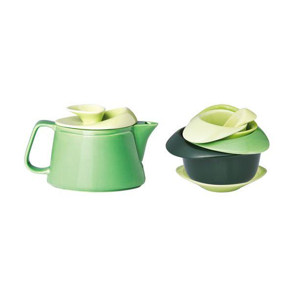 Designer Teller Set designer set mit teekanne tassen teller und sieb küche
